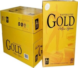 Paperline Gold A4 paper