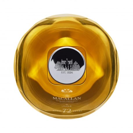 Macallan 72 Year Old in Lalique0